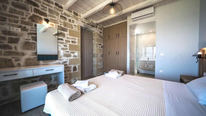 Villa Alkinoos Bedroom 1- Villa Alkinoos Υπνοδωμάτιο 1