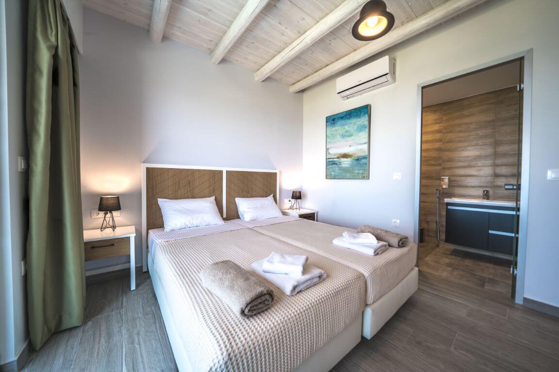 Villa Alkinoos Bedroom 2- Villa Alkinoos Υπνοδωμάτιο 2