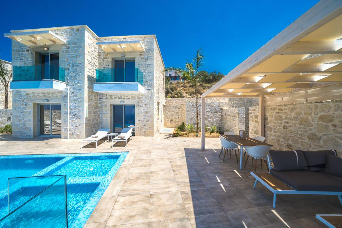 Villa Alkinoos exterior - Villa Alkinoos εξωτερικό