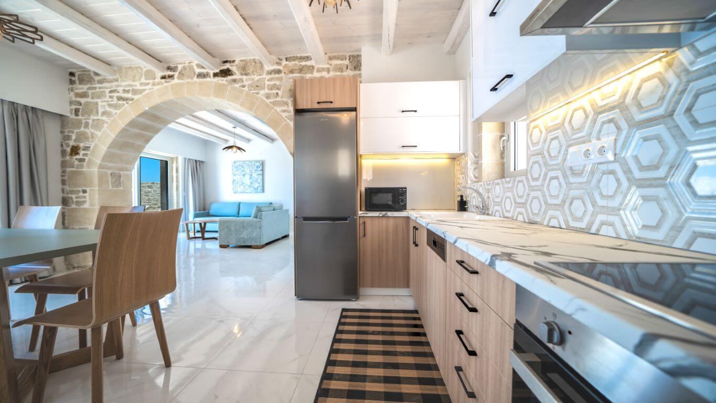 Villa Alkinoos Kitchen - Villa Alkinoos Κουζίνα