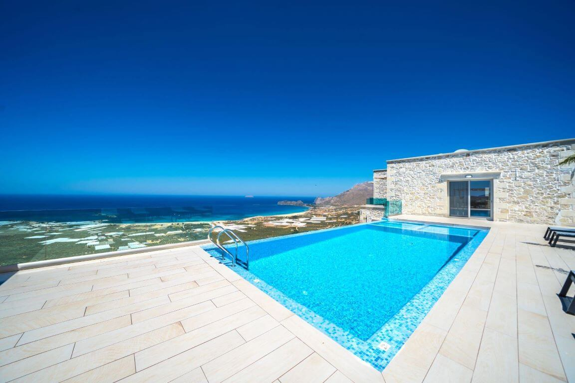 Villa Ariti Pool area - εξωτερικοί χώροι / πισίνα