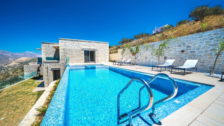 Villa Ariti Pool area - πισίνα