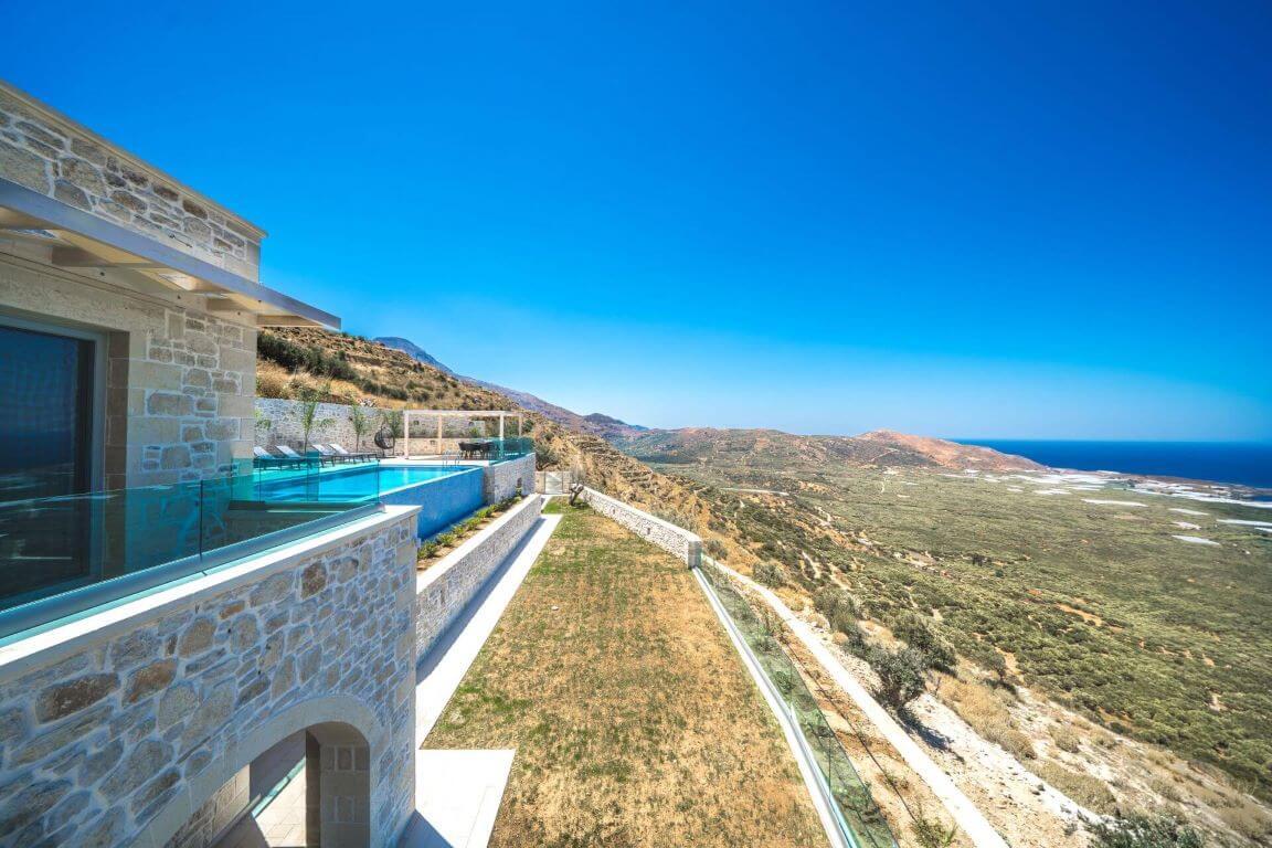 Villa Ariti external areas - εξωτερικοί χώροι