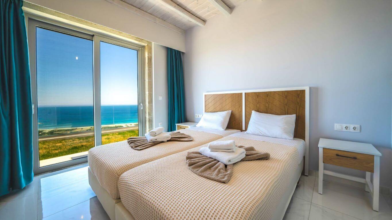 Villa Ariti bedroom 2 - Villa Ariti Υπνοδωμάτιο 2