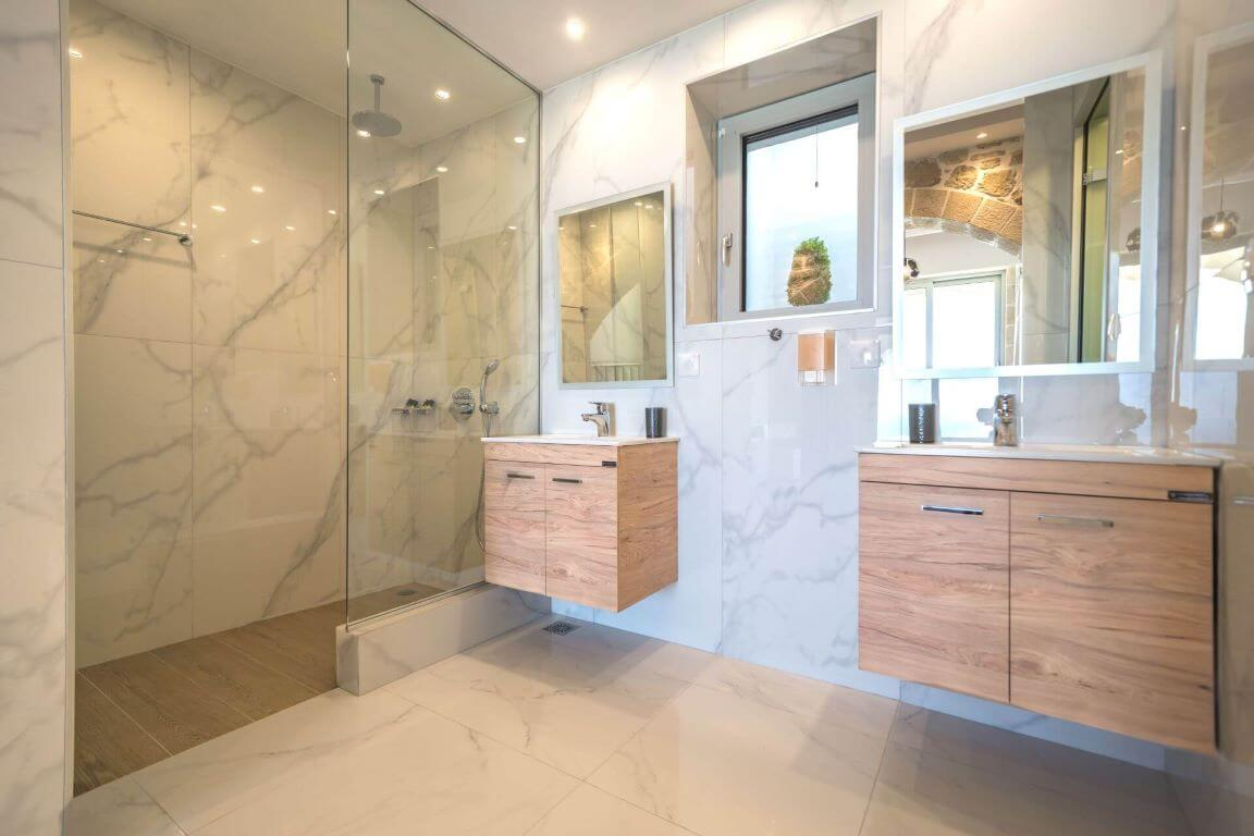 Villa Ariti bathroom 3 - Villa Ariti Μπάνιο 3