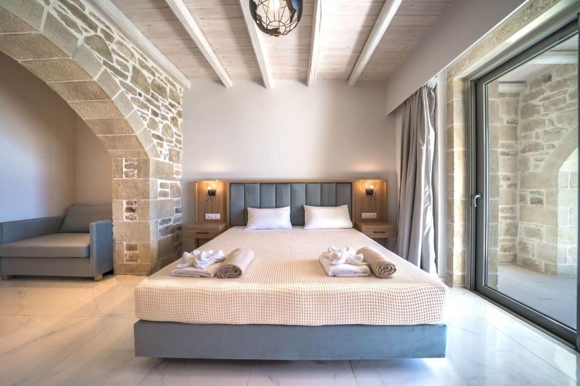 Villa Ariti bedroom 3 - Villa Ariti Υπνοδωμάτιο 3