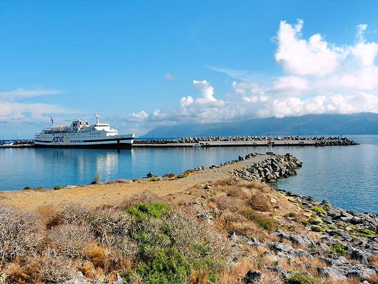 Kissamos Main port