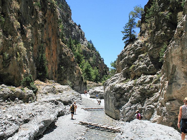 Samaria Gorge in Chania